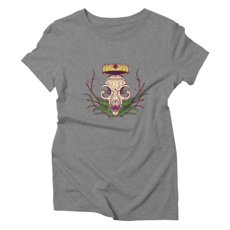 King bat Women's Triblend T-shirt by juliusllopis's Artist Shop