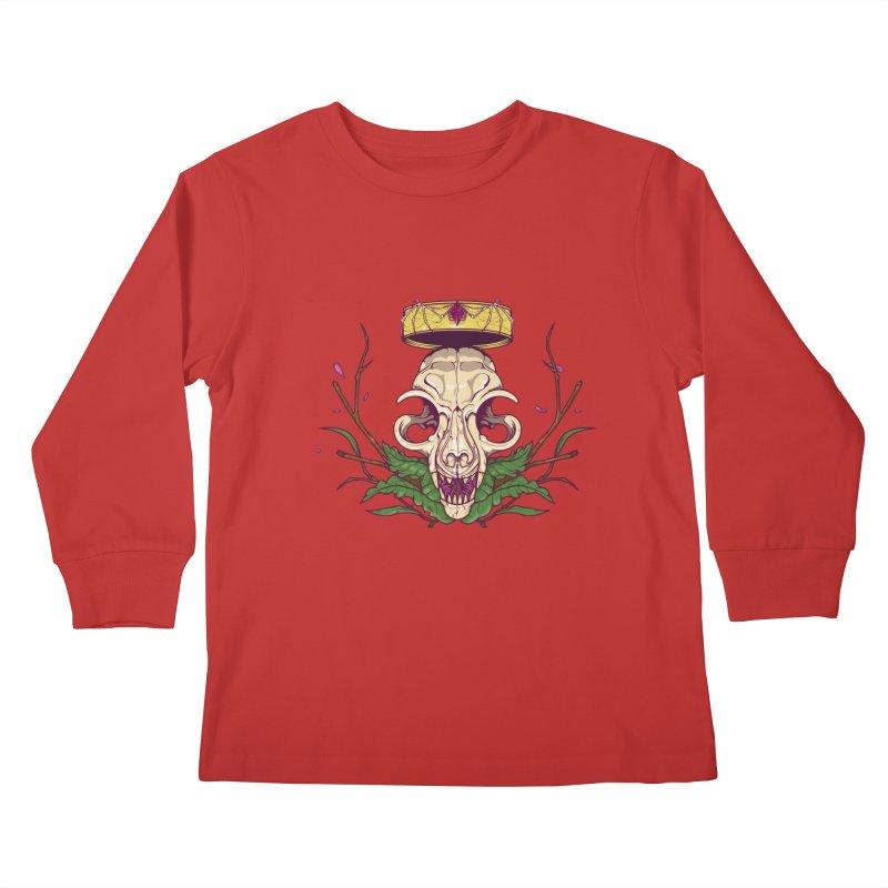King bat Kids Longsleeve T-Shirt by juliusllopis's Artist Shop