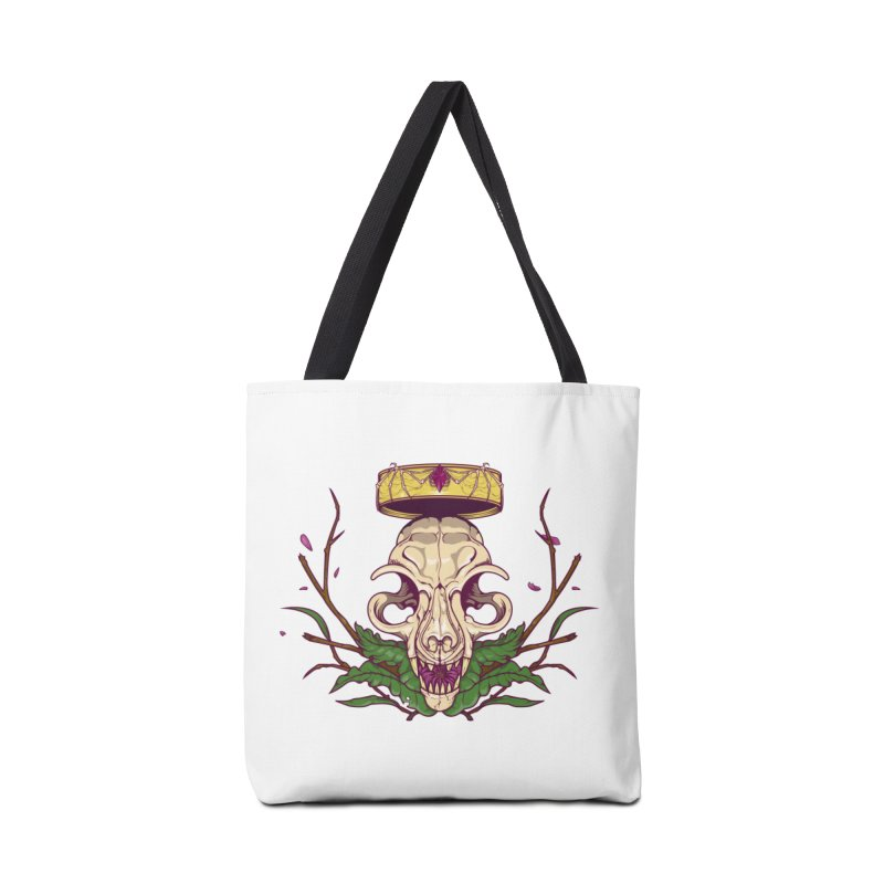 King bat Accessories Bag by juliusllopis's Artist Shop