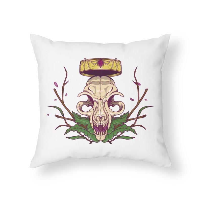King bat Home Throw Pillow by juliusllopis's Artist Shop