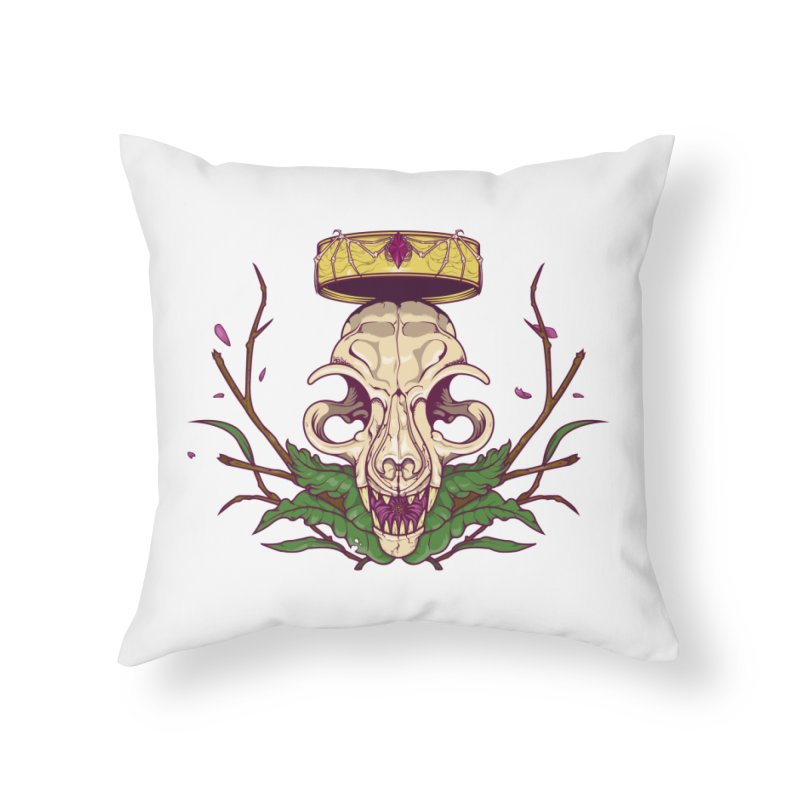 King bat Home Throw Pillow by juliusllopis's Artist Shop