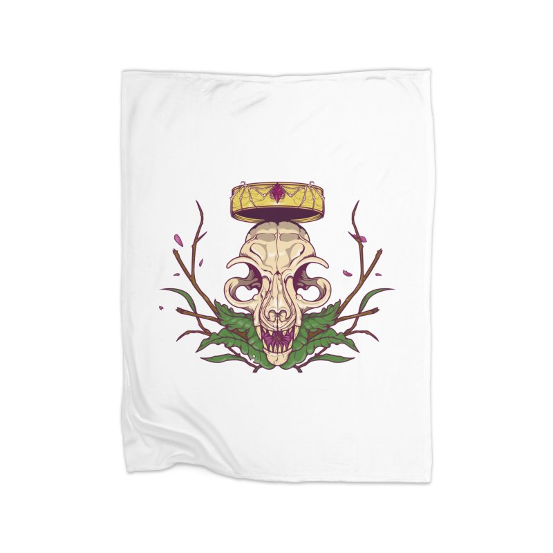 King bat Home Blanket by juliusllopis's Artist Shop