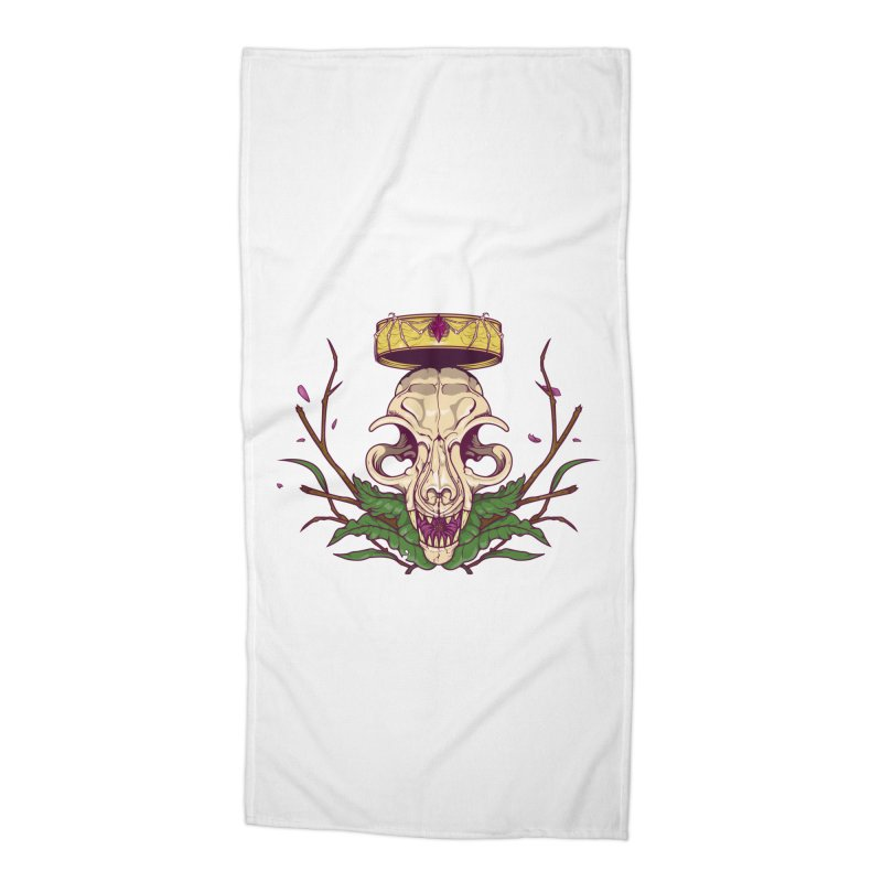 King bat Accessories Beach Towel by juliusllopis's Artist Shop