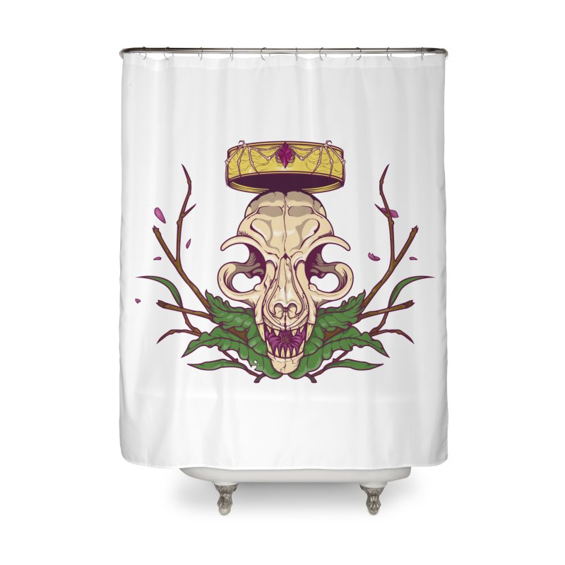 King bat Home Shower Curtain by juliusllopis's Artist Shop