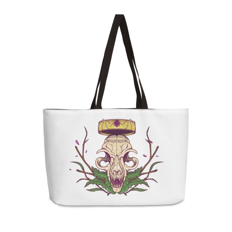 King bat Accessories Weekender Bag Bag by juliusllopis's Artist Shop