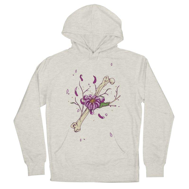Flower bone Men's Pullover Hoody by juliusllopis's Artist Shop