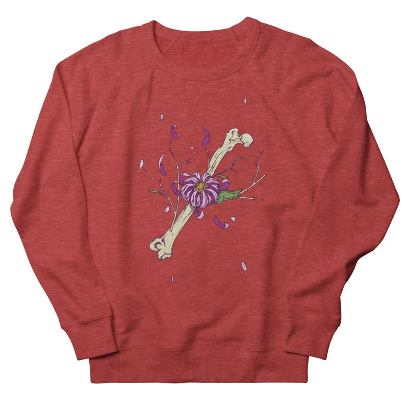 Flower bone Women's Sweatshirt by juliusllopis's Artist Shop