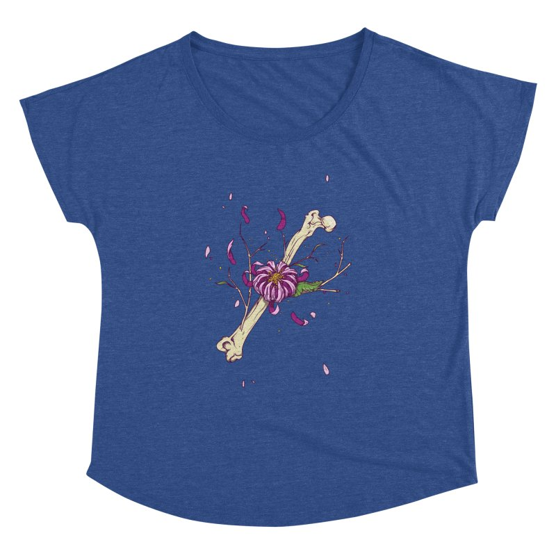 Flower bone Women's Dolman by juliusllopis's Artist Shop
