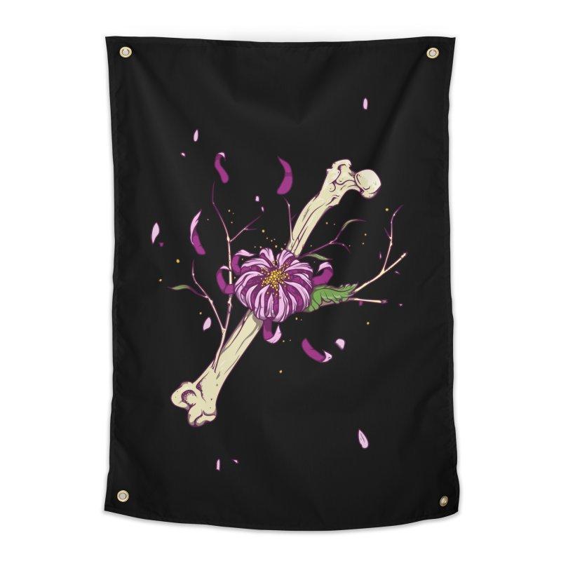 Flower bone Home Tapestry by juliusllopis's Artist Shop
