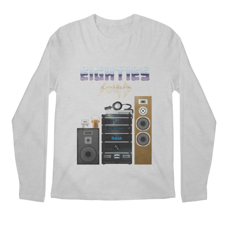 Eighties sound Men's Regular Longsleeve T-Shirt by juliusllopis's Artist Shop