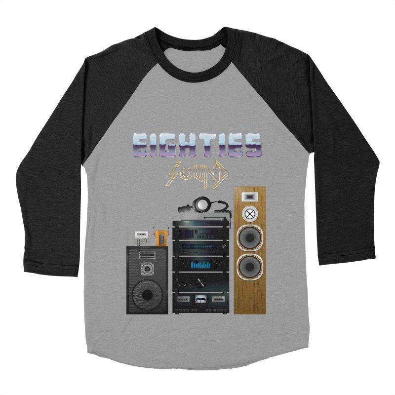 Eighties sound Men's Baseball Triblend Longsleeve T-Shirt by juliusllopis's Artist Shop