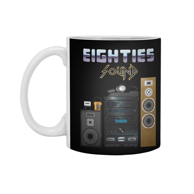 Eighties sound Accessories Mug by juliusllopis's Artist Shop