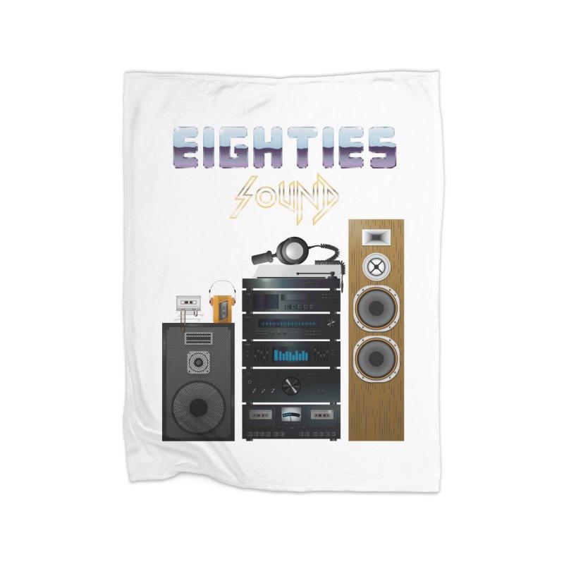 Eighties sound Home Blanket by juliusllopis's Artist Shop
