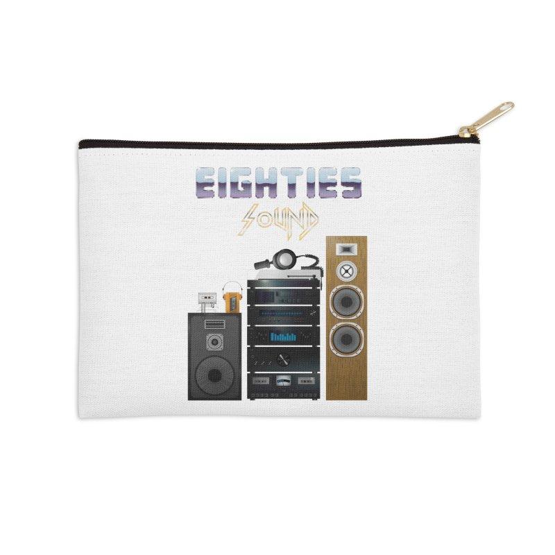 Eighties sound Accessories Zip Pouch by juliusllopis's Artist Shop