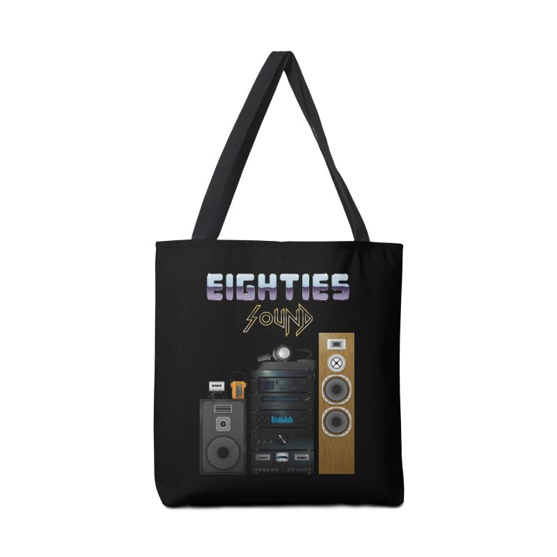 Eighties sound Accessories Bag by juliusllopis's Artist Shop