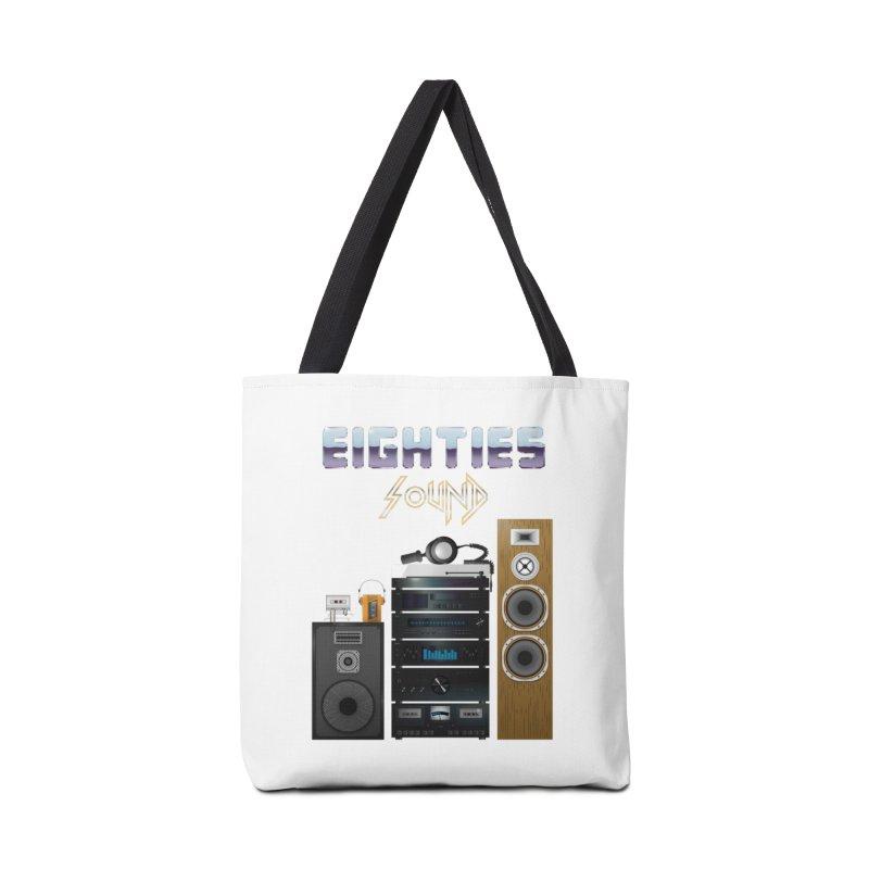 Eighties sound Accessories Bag by juliusllopis's Artist Shop