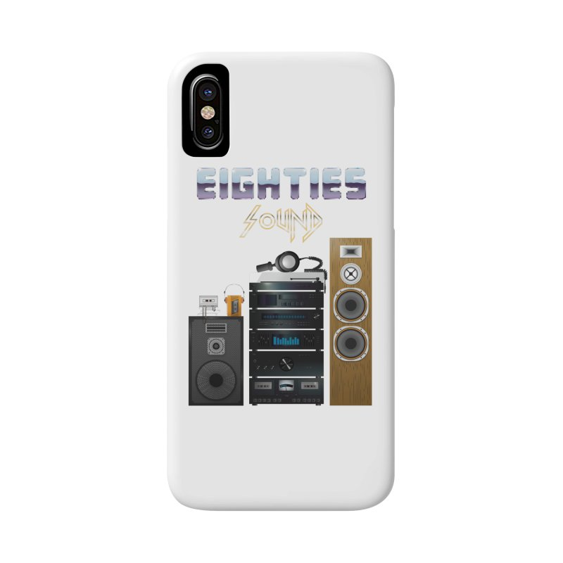 Eighties sound Accessories Phone Case by juliusllopis's Artist Shop