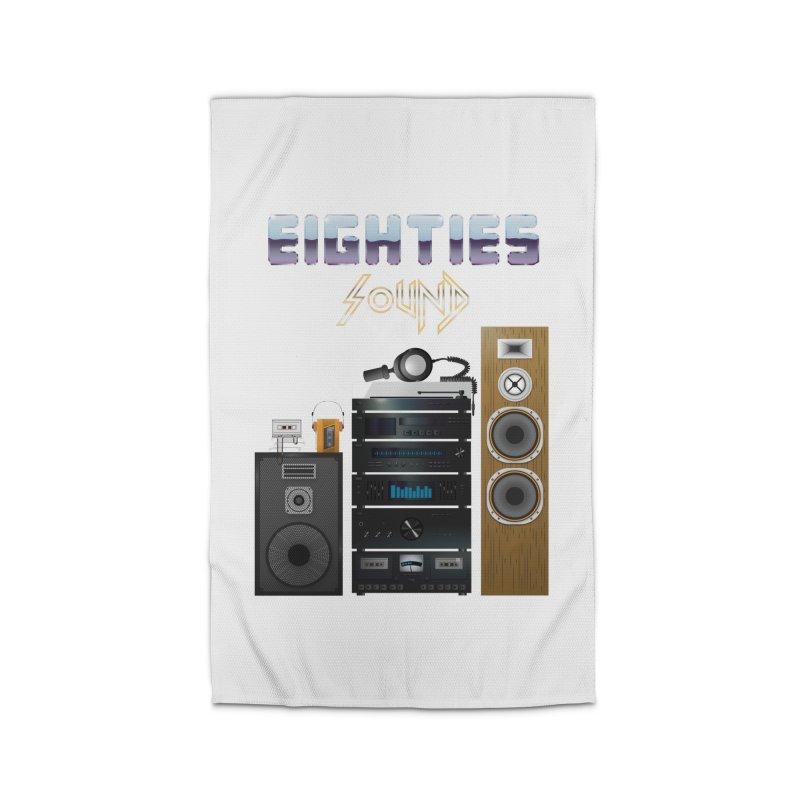 Eighties sound Home Rug by juliusllopis's Artist Shop