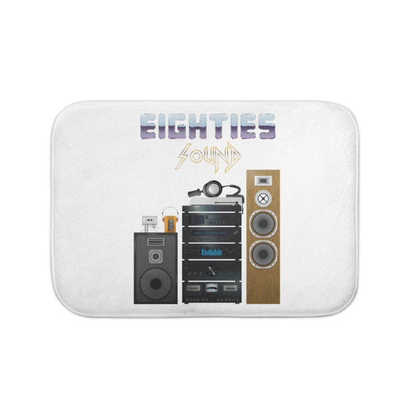 Eighties sound Home Bath Mat by juliusllopis's Artist Shop
