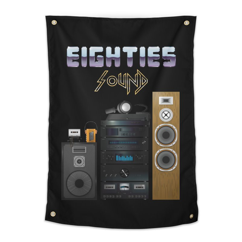 Eighties sound Home Tapestry by juliusllopis's Artist Shop