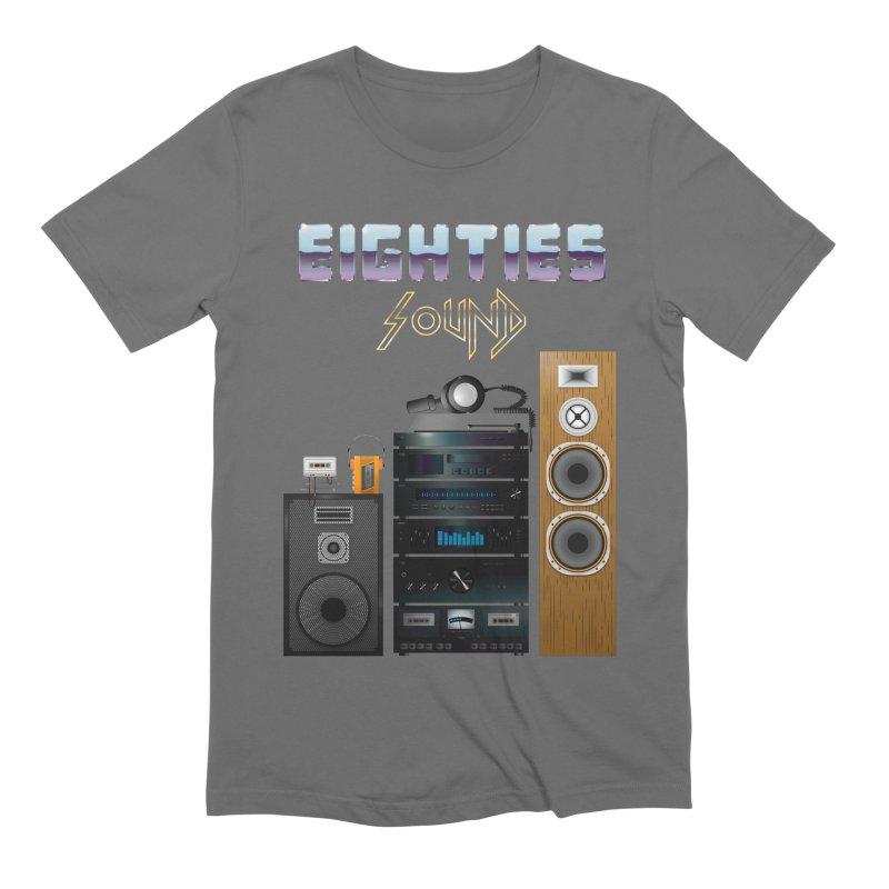 Eighties sound Men's Extra Soft T-Shirt by juliusllopis's Artist Shop