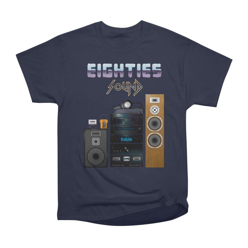 Eighties sound Men's Heavyweight T-Shirt by juliusllopis's Artist Shop