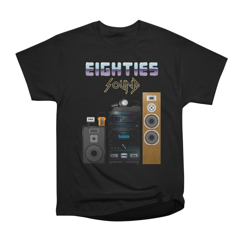 Eighties sound Women's Heavyweight Unisex T-Shirt by juliusllopis's Artist Shop