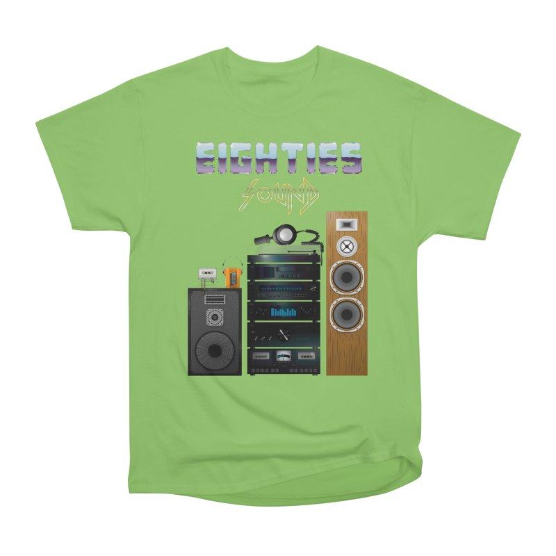 Eighties sound Women's Heavyweight Unisex T-Shirt by juliusllopis's Artist Shop
