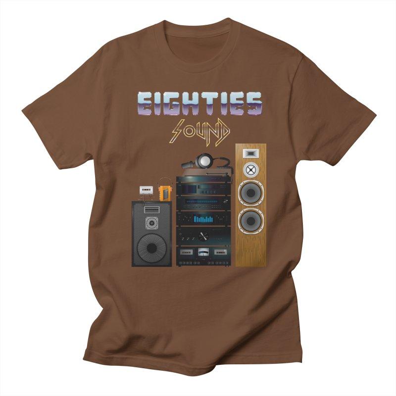 Eighties sound Women's Regular Unisex T-Shirt by juliusllopis's Artist Shop