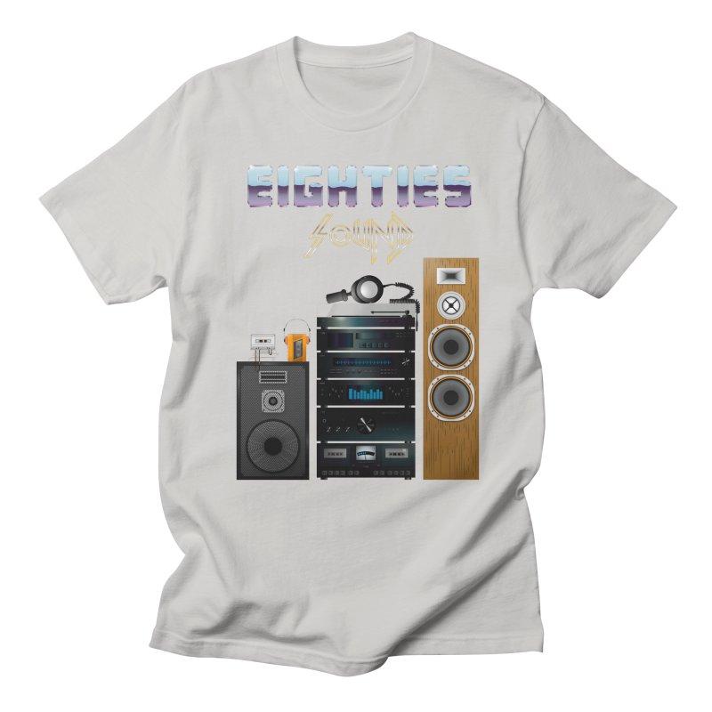Eighties sound Men's Regular T-Shirt by juliusllopis's Artist Shop