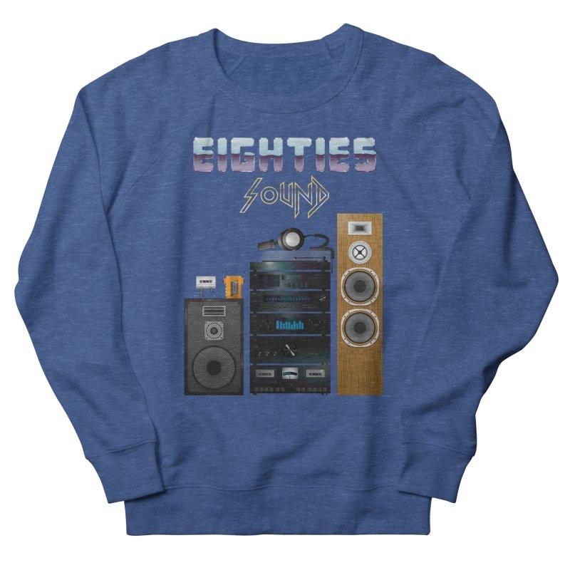 Eighties sound Men's French Terry Sweatshirt by juliusllopis's Artist Shop