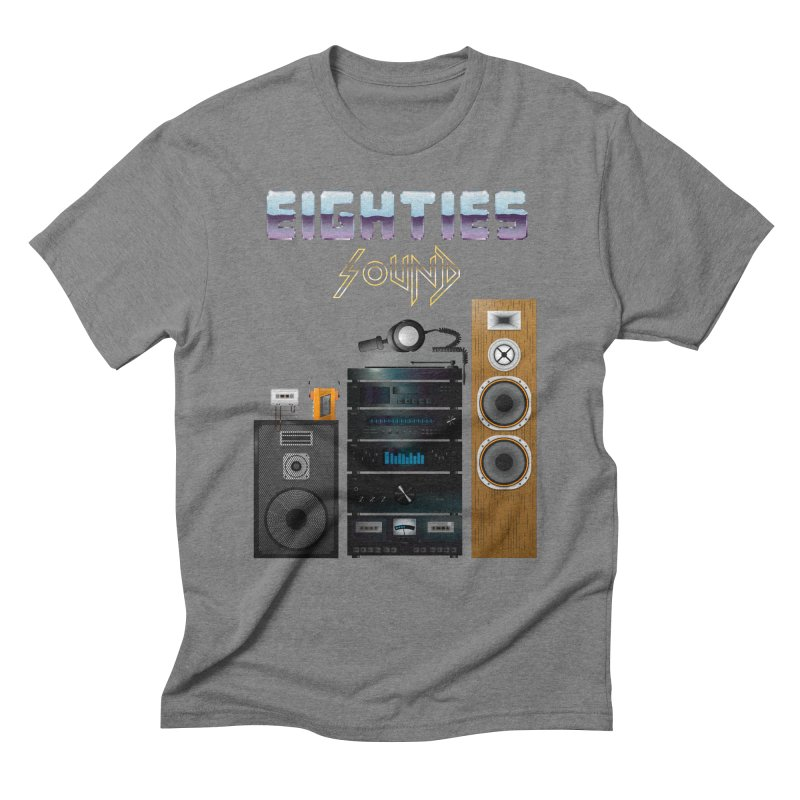 Eighties sound Men's Triblend T-Shirt by juliusllopis's Artist Shop