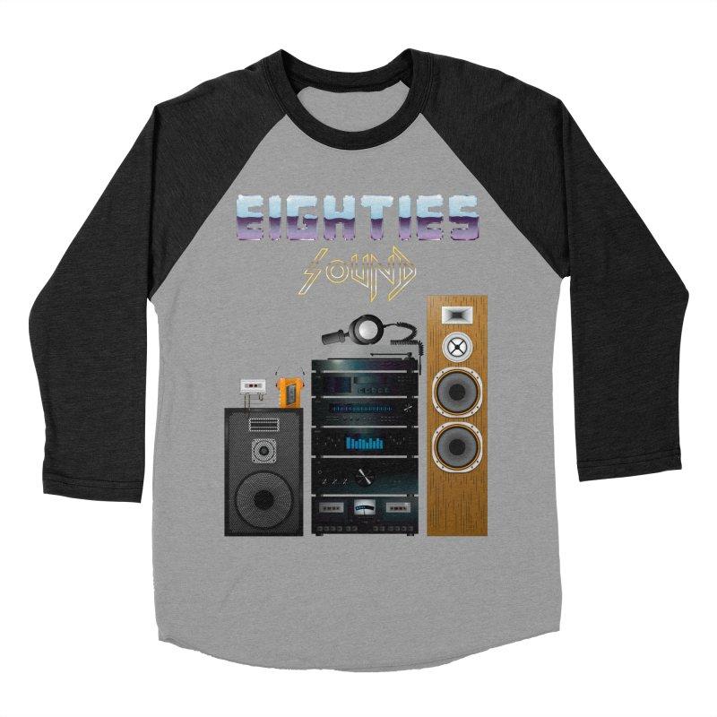 Eighties sound Women's Baseball Triblend Longsleeve T-Shirt by juliusllopis's Artist Shop