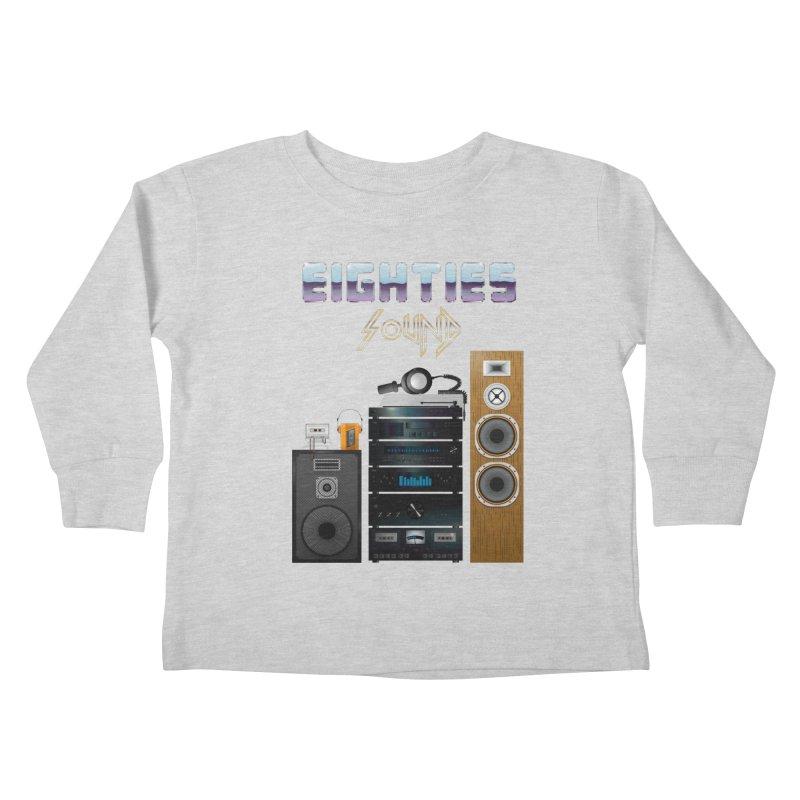 Eighties sound Kids Toddler Longsleeve T-Shirt by juliusllopis's Artist Shop