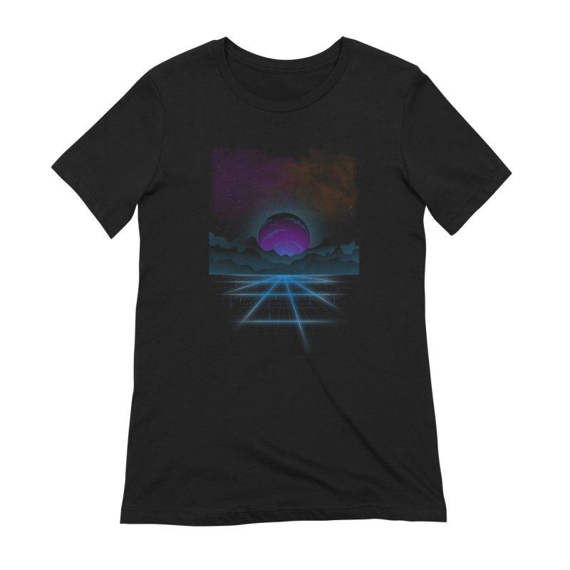 Outrun Women's Extra Soft T-Shirt by juliusllopis's Artist Shop