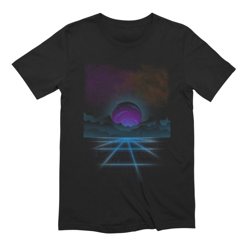 Outrun Men's Extra Soft T-Shirt by juliusllopis's Artist Shop