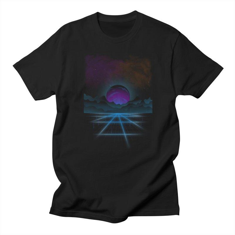 Outrun Women's Regular Unisex T-Shirt by juliusllopis's Artist Shop
