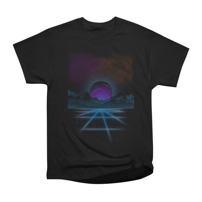 Outrun Women's Heavyweight Unisex T-Shirt by juliusllopis's Artist Shop