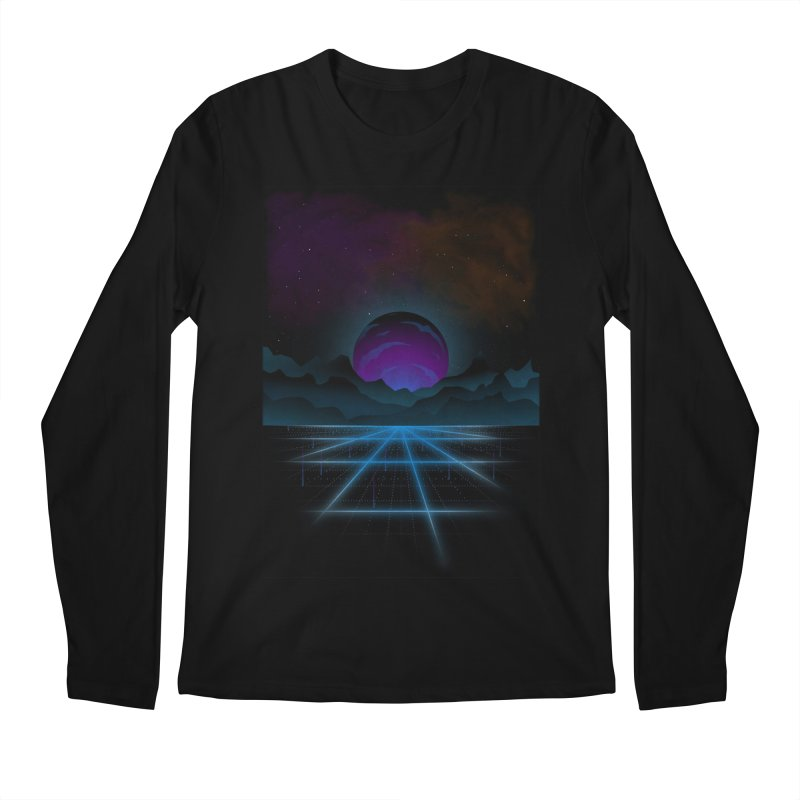 Outrun Men's Regular Longsleeve T-Shirt by juliusllopis's Artist Shop