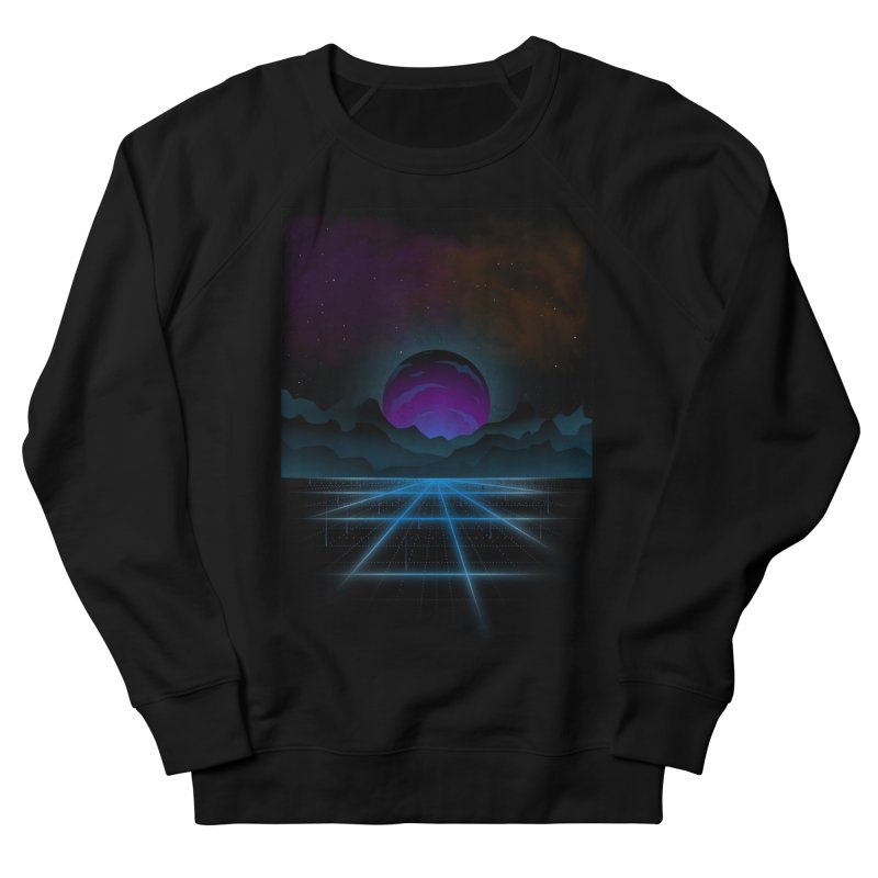 Outrun Men's French Terry Sweatshirt by juliusllopis's Artist Shop