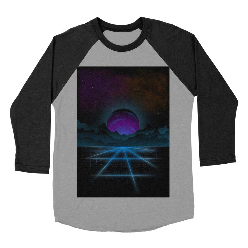 Outrun Men's Baseball Triblend Longsleeve T-Shirt by juliusllopis's Artist Shop