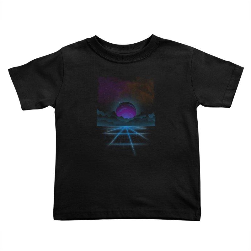 Outrun Kids Toddler T-Shirt by juliusllopis's Artist Shop