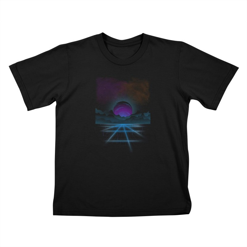Outrun Kids Toddler T-Shirt by juliusllopis's Artist Shop