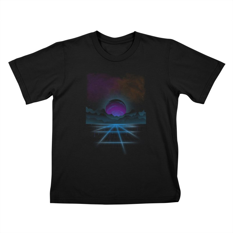 Outrun Kids T-Shirt by juliusllopis's Artist Shop