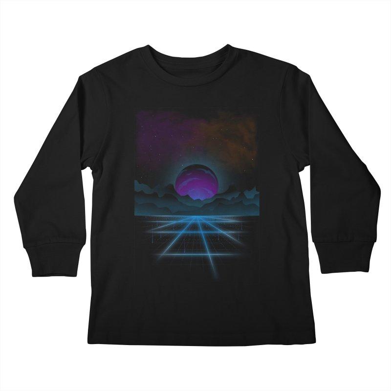 Outrun Kids Longsleeve T-Shirt by juliusllopis's Artist Shop
