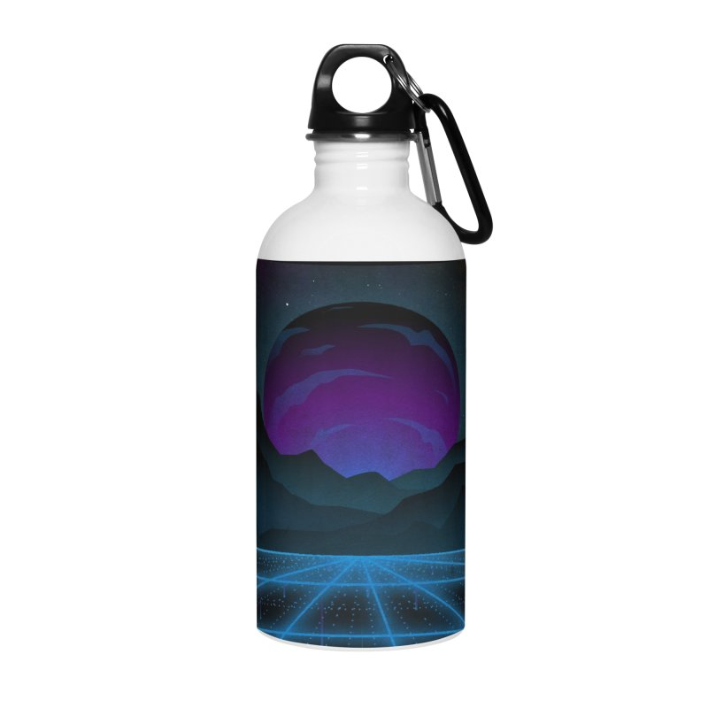 Outrun Accessories Water Bottle by juliusllopis's Artist Shop