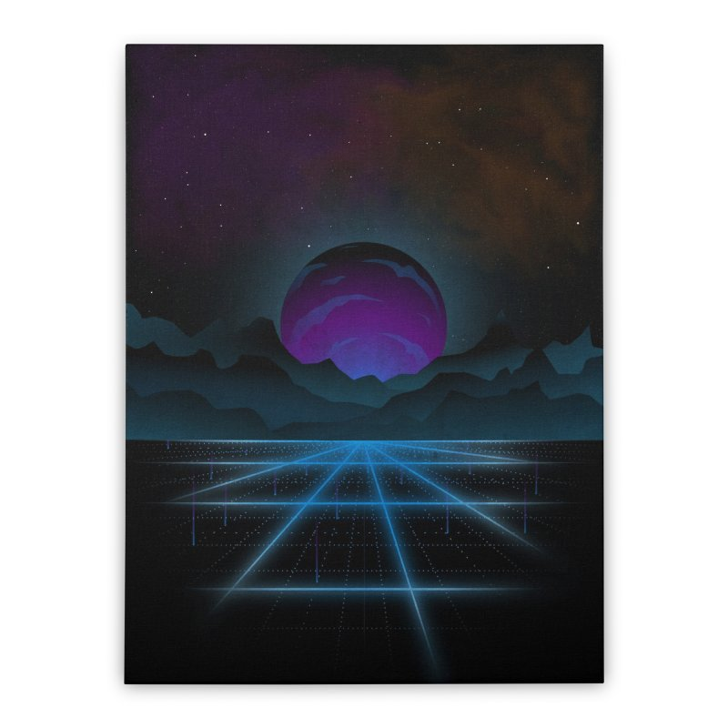 Outrun Home Stretched Canvas by juliusllopis's Artist Shop