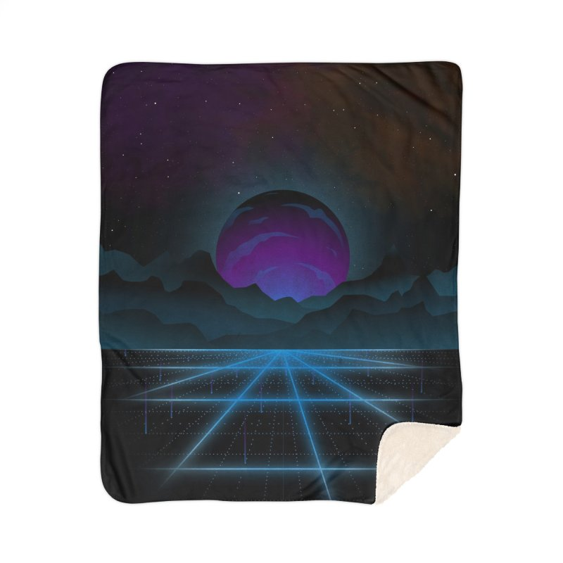Outrun Home Blanket by juliusllopis's Artist Shop