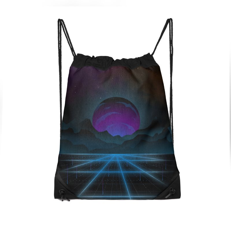Outrun Accessories Bag by juliusllopis's Artist Shop