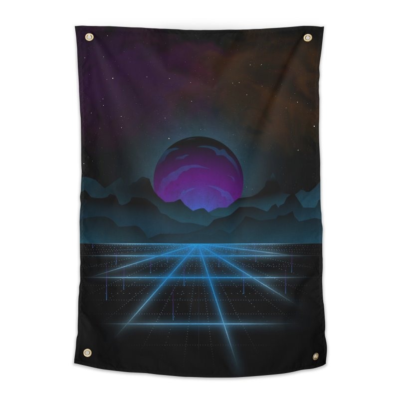 Outrun Home Tapestry by juliusllopis's Artist Shop